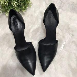 Vince Vero cuoio women's heels/slip on-9M Black